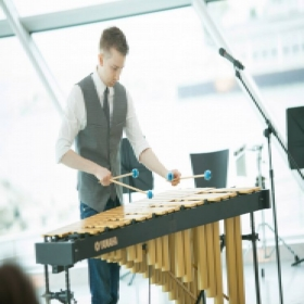 Performance at the Milwaukee Art Museum