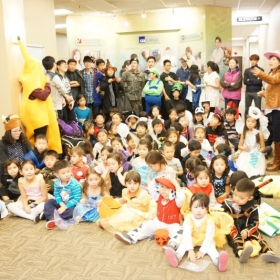 Korean School Halloween Party