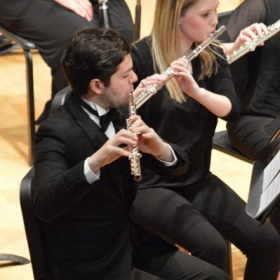 "I was the Principal Flutist of the Tennessee Tech Symphony Band 2018-2019 ""Photo from our final performance of the spring 2019 semester"""