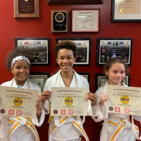 3 of my students getting promoted.