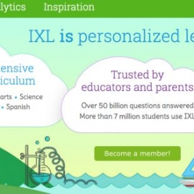 Students who are taking math are required by me to have a IXL subscription. This is a great way to track students progress. ixl.com