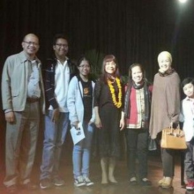 With Philippine diplomats and their children after my recital in New Delhi, India. November 2016.