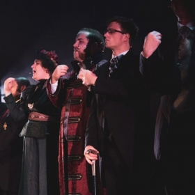 As a lead in Jekyll and Hyde the musical