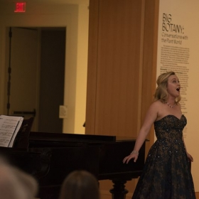 From Big Botany, a recital I gave in the galleries of the Spencer Museum of Art in conjunction with their exhibition of the same name.