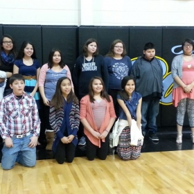 My Middle School Choral Contest participants