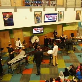 Denver School of the Arts Percussion Ensemble