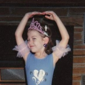"I call this, ""Tiny Dancer"" - Me at the age of 4"