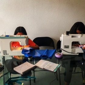 Beginner sewing lesson