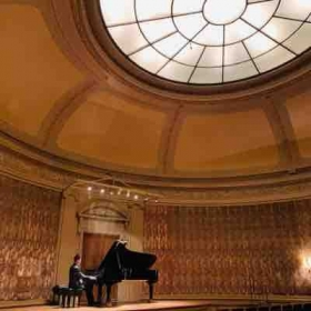 Piano solo recital at the Frick Collection