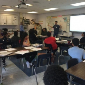 Career and Office Training with High School Students