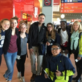 On a 10-day trip to France with a group of my students and EF Tours.
