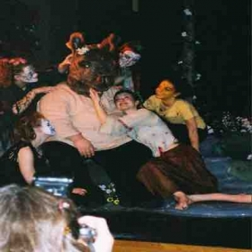 "Playing Titania in ""A Midsummer Night's Dream"""