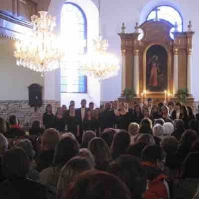 Performing in a historical cathedral in Germany!