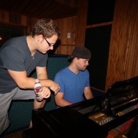Tracking piano for Songbirds & Lions @ Signature Sound Studios in San Diego, CA