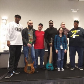 Gerald Veasley's Bass Bootcamp Instructors 2019