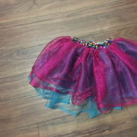 Custom made Tu-Tu Sheer Kid's Skirt made by yours truly Melissa George.