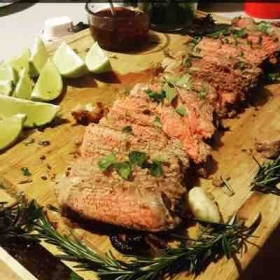 Chili lime steak