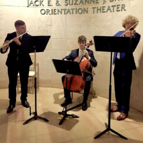 Performing for the George W Bush Presidential Center