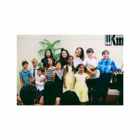 Summer recital with our young musicians at Kit Music studios