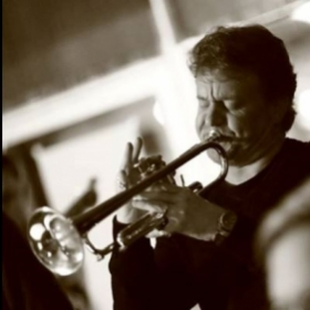 Playing jazz solo with A Nordic Sound Jazz Orchestra