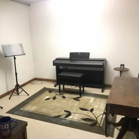 My current teaching studio