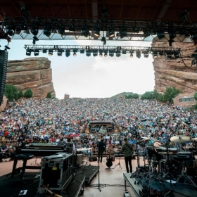 Red Rocks Ampitheatre in Boulder, CO