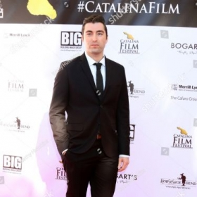 "Zach on the red carpet of the Catalina Film Festival for his film ""Torn."""