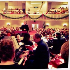 Christmas concert with Orchestra, Kevin Pollock-Pianist