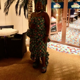 The AFRICAN ATTIRE DESIGNED OCT.2019