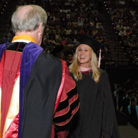 Graduating with my master's degree in musicology