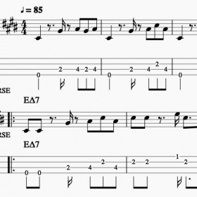 I've been using MuseScore to transcribe and share music in notation and tab, check it out!