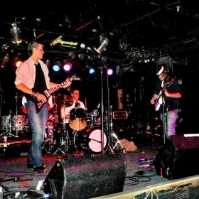 On Stage in one of my bands circa 2005