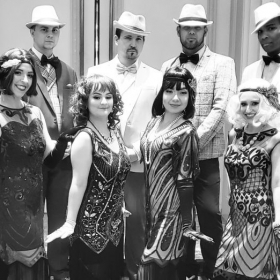 20s Great Gatbsy performance I choreographed and Performed in for an International convention by Honeywell Group