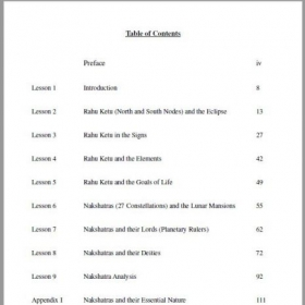 Table of Contents Intermediate Course