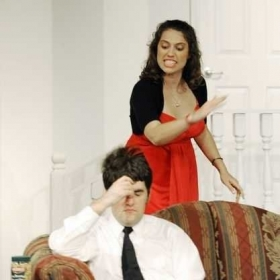 Performing in Rumors by Neil Simon