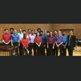 This is the Towson University Percussion Ensemble in the Fall Semester of 2019 right before our Percussion Ensemble Concert!