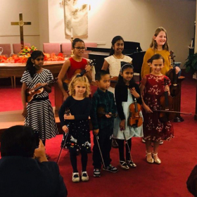 Fall 2019 Violin Studio Recital