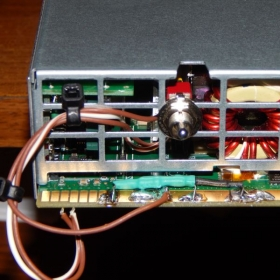Server power supply project. Modified to 13.8 VDC at 47 A