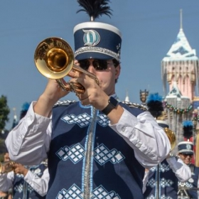 Playing with the Disneyland Band!