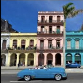 This is Cuba. We are known for our antique cars.