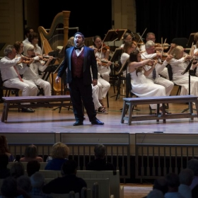 """""""Some Enchanted Evening"""" from South Pacific, with Chautauqua Opera 2019"""