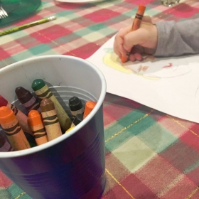 Childrens Art Lessons are so much fun!