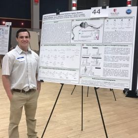 Presented research in the URECA celebration of undergraduate research and creativity in April 2019.