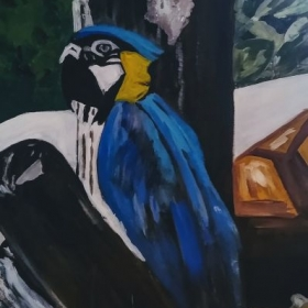 Now on canvas (Acrylic Painting)