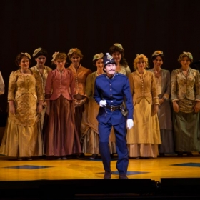 Joshua as the Sergeant of Police in The Pirates of Penzance