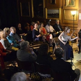 Performing on the subscription series for the Lyric Chamber Music Society of New York