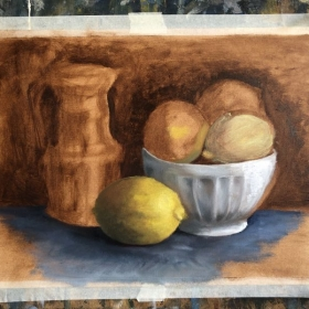 Still-life painting by student Sigalit Livnat.