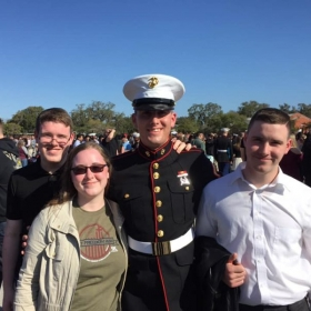 Went to Paris Island to see my brother graduate Marine Boot Camp. oorah!