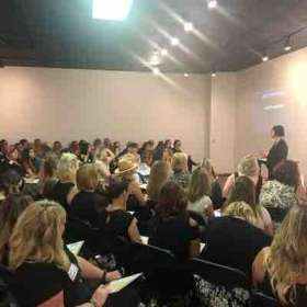 Sharing a class on How to Grow your Clientele!