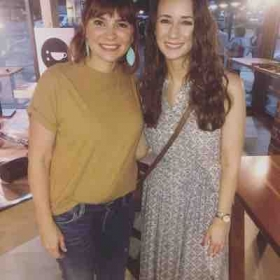Such a memorable night meeting one of my favorite musical influences!!  Kim Walker-Smith and me :)